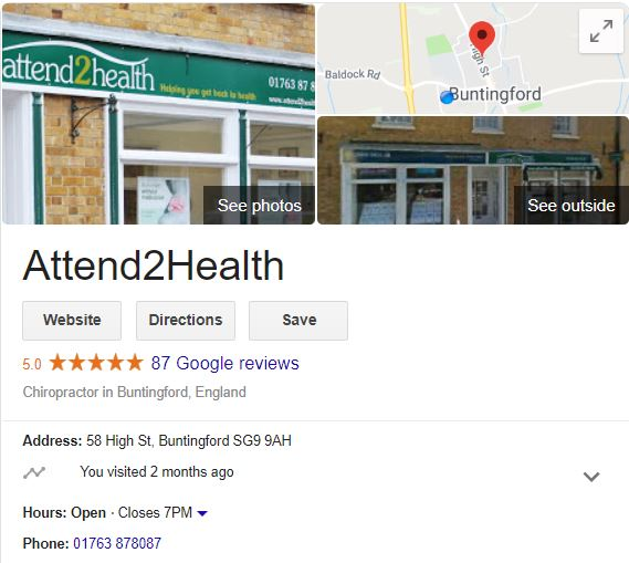 87 Google reviews