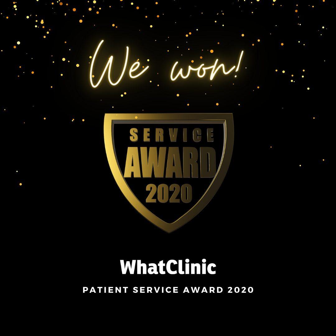 Attend2Health wins WhatClinic Service Award